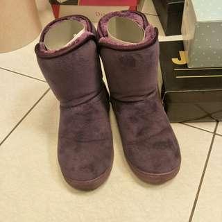 38/39/紫色雪靴