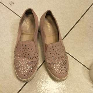 🚚 粉閃閃淑女鞋