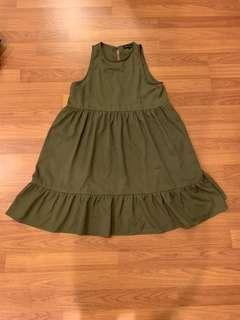 Something Borrowed Babydoll Dress