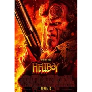 A pair of Hellboy premiere movie ticket passes on Wed 10 April 2019, 9.15pm Filmgarde Cineplexes, Century Square