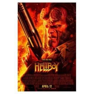 A pair of Hellboy premiere passes movie tickets GV Max (VivoCity) 10 April 2019, Wednesday 9.15pm
