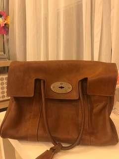 Mulberry bayswater bag 手袋 100%真 80%新