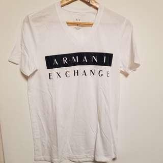 🈹 Armani Men print tee 印花男裝Tee S size #flashthurs