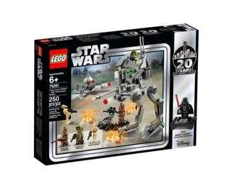 Lego Star Wars 75261 Clone Scout Walker 20th Anniversary Edition 2019