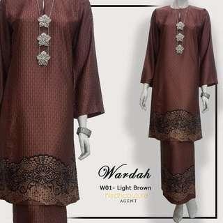 Baju Kurung Pahang Wardah