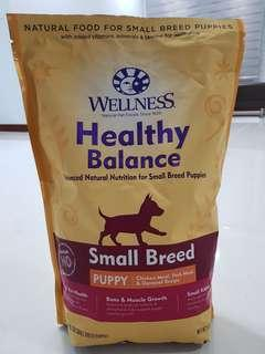Wellness Healthy Balance for Small Breed Puppies 5Ib/2.26kg