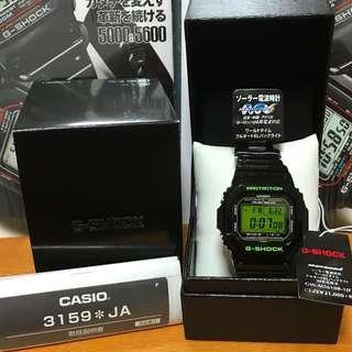 ♻️LAST PIECE♻️ Casio G-Shock GWM5610B-1JF (Japan Domestic Model) GWM5610 🤗 GW M5610 🤗🤗🤗 RARE 🤗