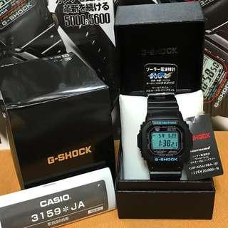 💎LAST PIECE💎 Casio G-Shock GWM5610BA-1JF (Japan Domestic Model) GWM5610 🤗🤗🤗 GW M5610 🤗
