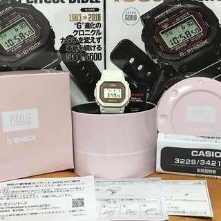 Casio G-Shock X Pigalle DW5600PGW-7JR (Limited Edition) (Japan Model) 🤗 DW5600 🤗🤗🤗 DW 5600 🤗