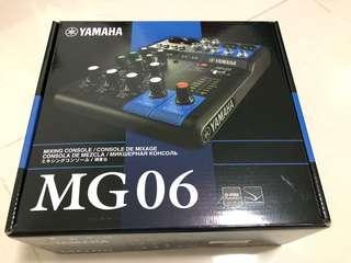 🚚 Yamaha MG06 BN