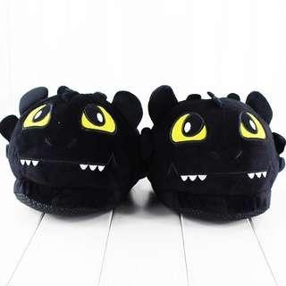 Toothless Night Fury Indoor Slippers