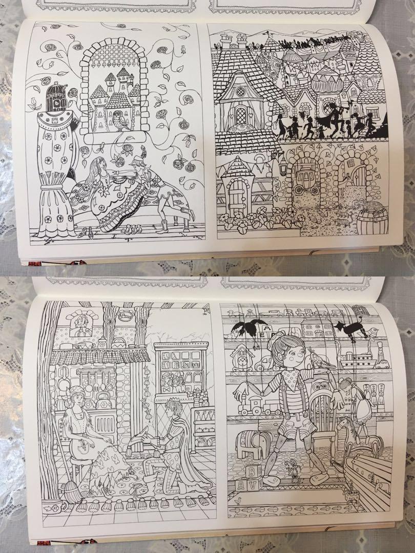 韓國我的精靈故事填色本