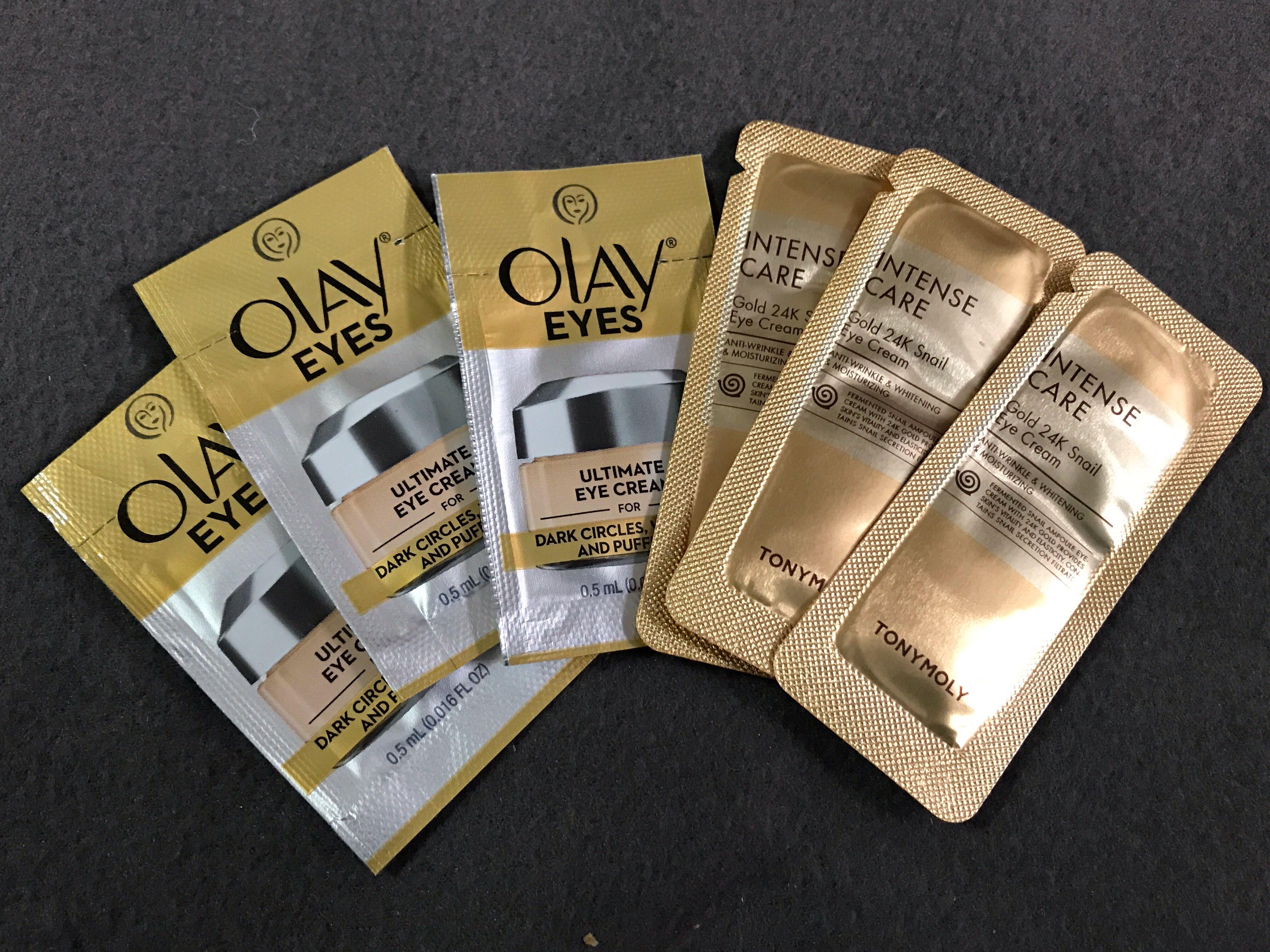 清貨 包郵eye cream sample 6包