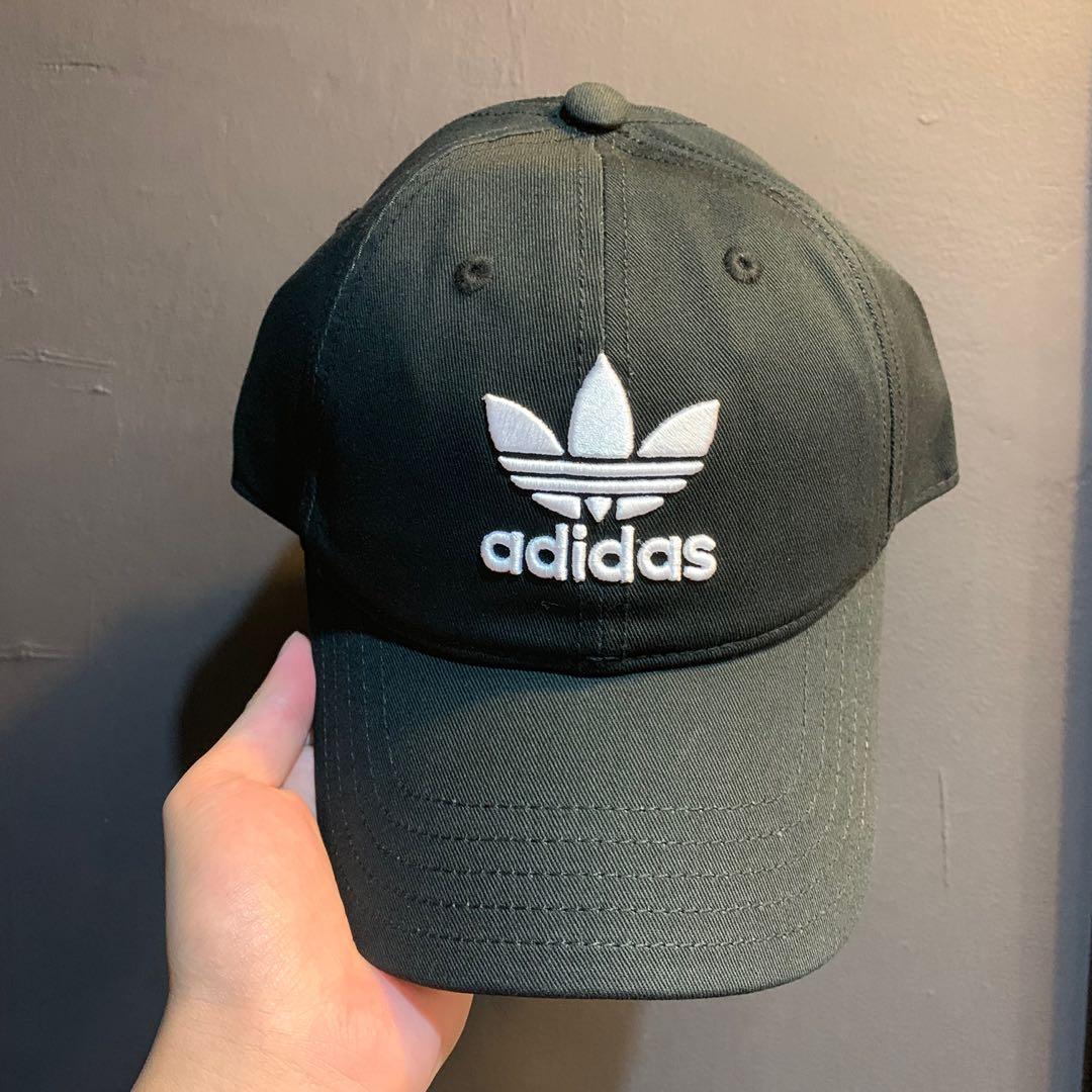 9a25ba2b64a Adidas Originals Trefoil Black Dad Cap