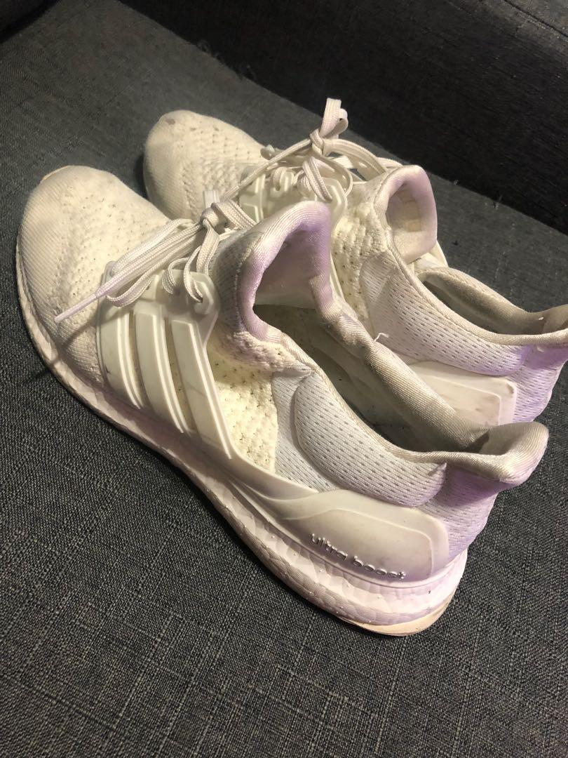 Adidas Triple White Ultraboost size 11