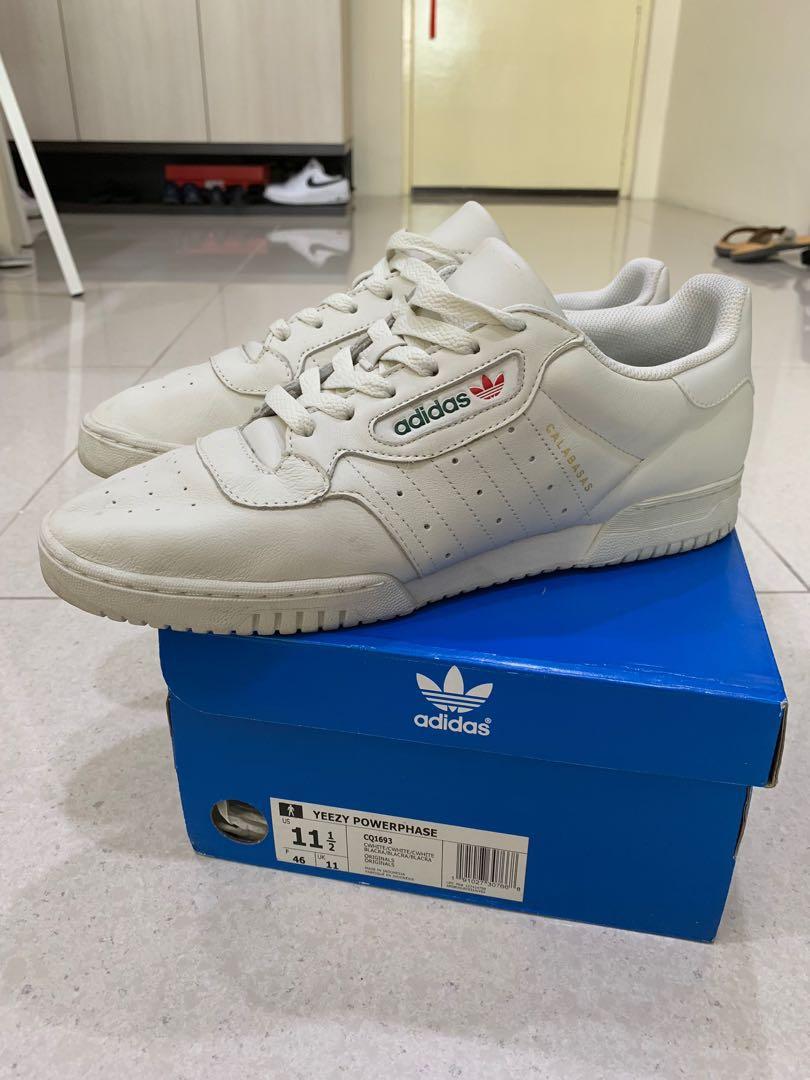 a1e896faa Adidas Yeezy Powerphase Cream White
