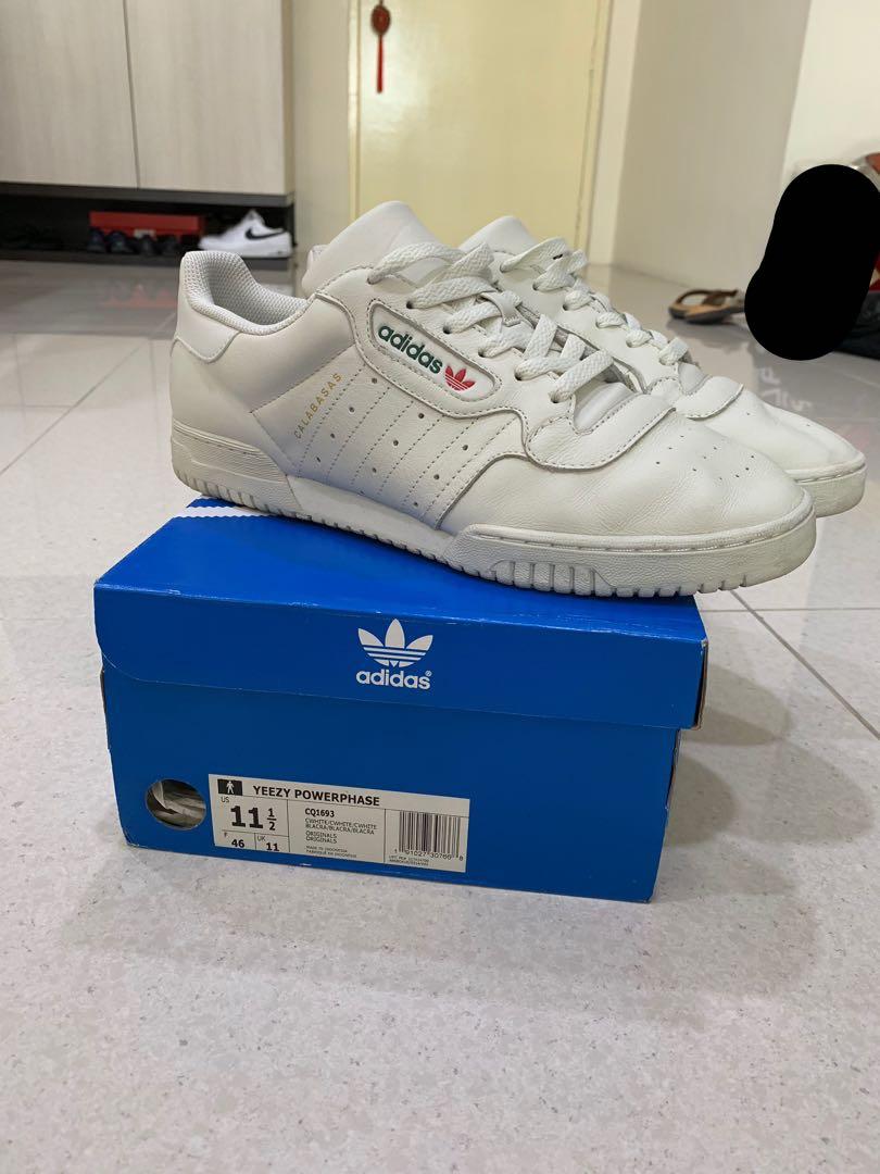 988b4371f93 Adidas Yeezy Powerphase Cream White