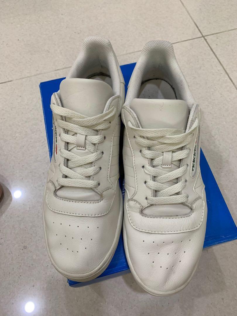 db4e10956f7f3 Adidas Yeezy Powerphase Cream White