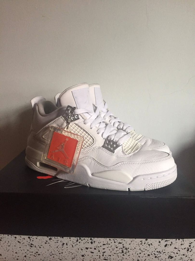 151c3662166 Air Jordan 4 pure money aj, Men's Fashion, Footwear, Sneakers on ...
