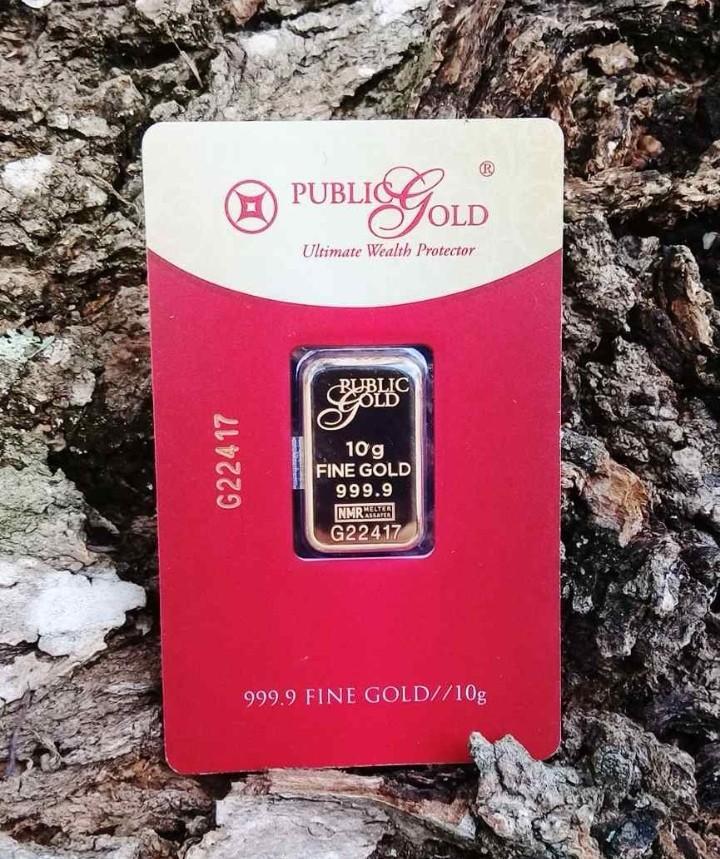 🔥 EMAS 0.5+++ GRAM PUBLIC GOLD PATUH SYARIAH + BUKU WANG EMAS & MISI BEBAS HUTANG 🔥