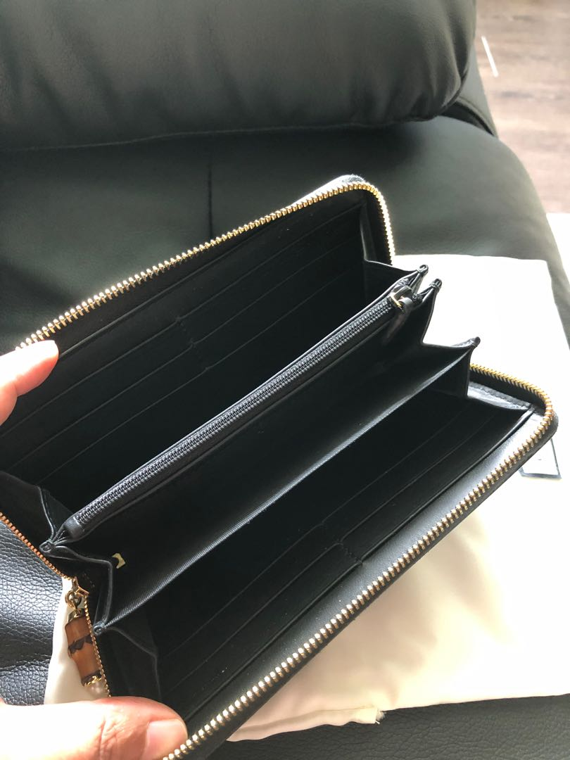 Authentic Gucci Women's SMLG Long Wallet