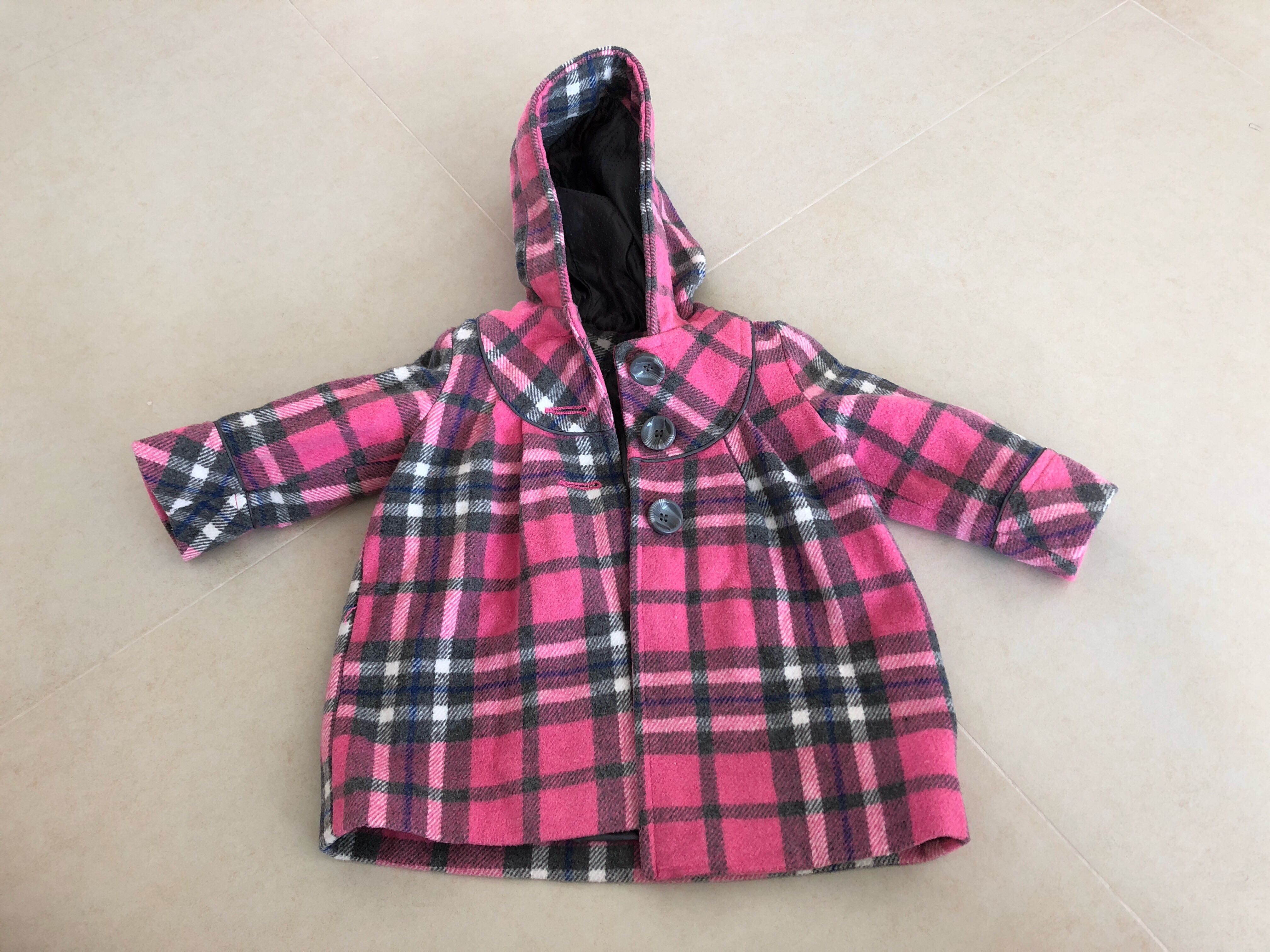 Girls' Clothing (0-24 Months) Next Baby Girls Hoodie 6-9 Months