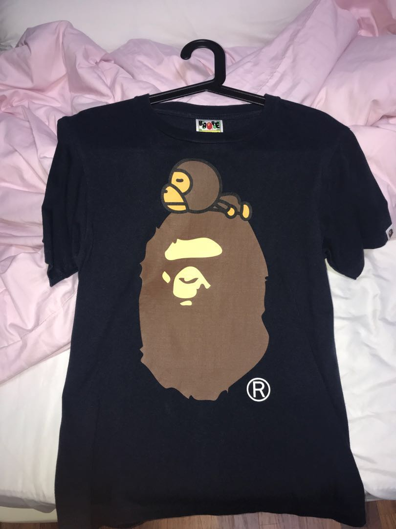 d5b70d7db Bape Tee, Men's Fashion, Clothes, Tops on Carousell