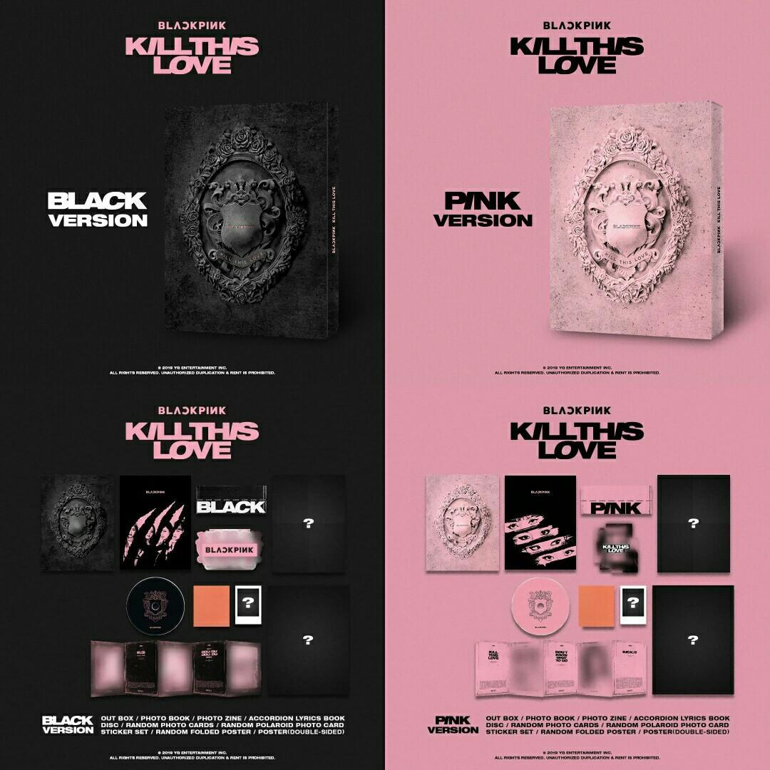 BLACKPINK KILL THIS LOVE 2ND MINI ALBUM