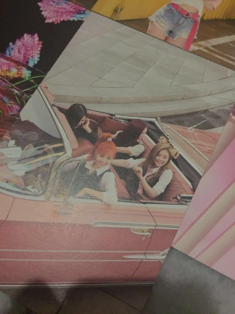 Blackpink Pop Up Store Postcard set (As if it's your last)