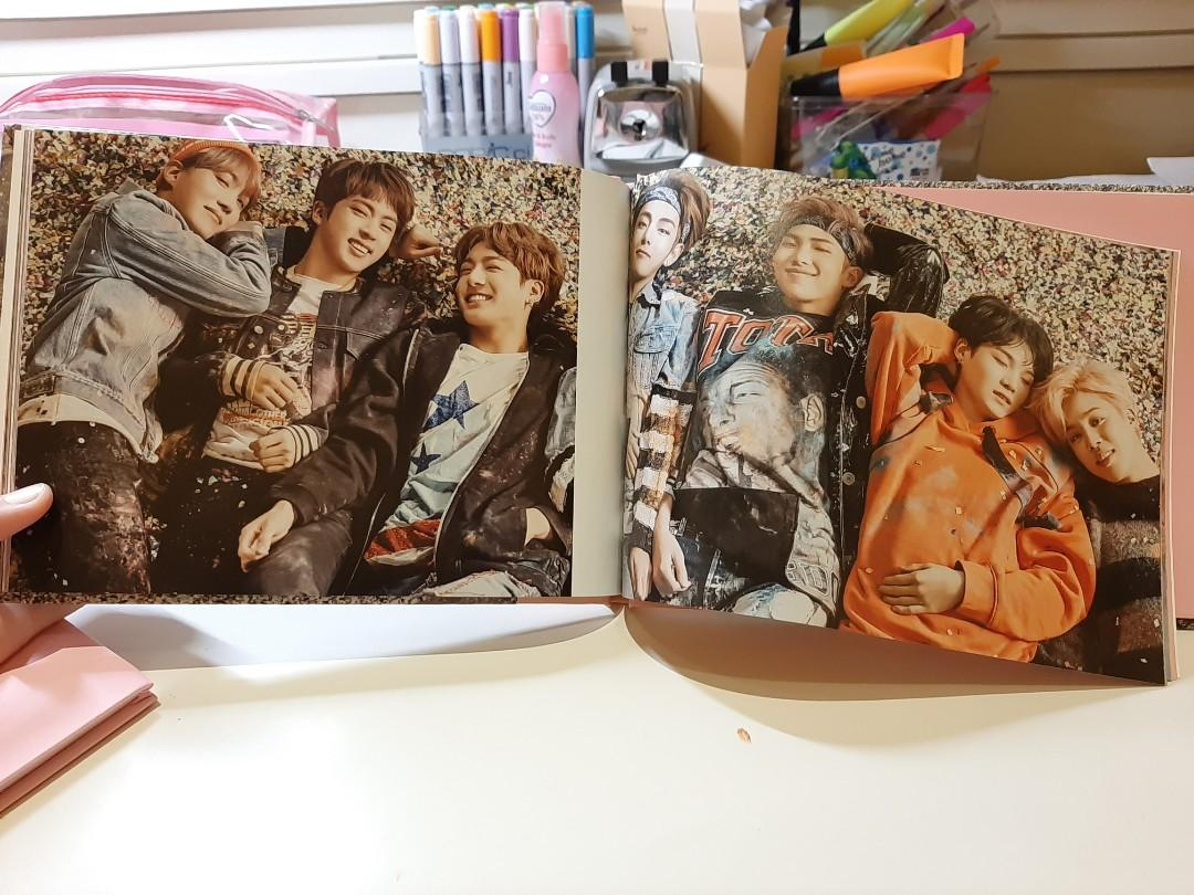 BTS You Never Leave Me Alone ( YNWA) Album Unsealed