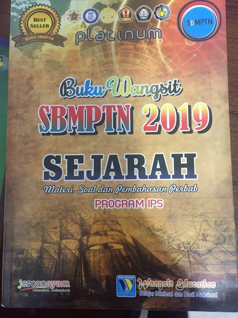 Buku wangsit Platinum soshum 2019