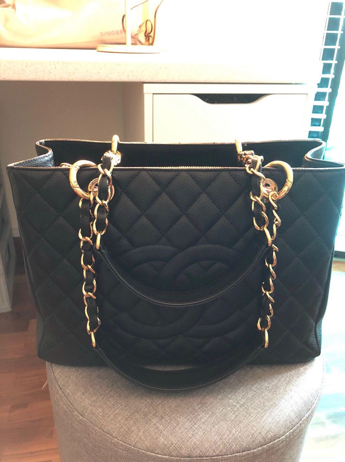 2eb20f4cdb6bf9 Chanel Grand Shopping Tote(GST), Luxury, Bags & Wallets, Others on ...