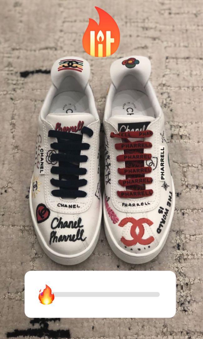 de53f83f4 Chanel x Pharrell sneaker