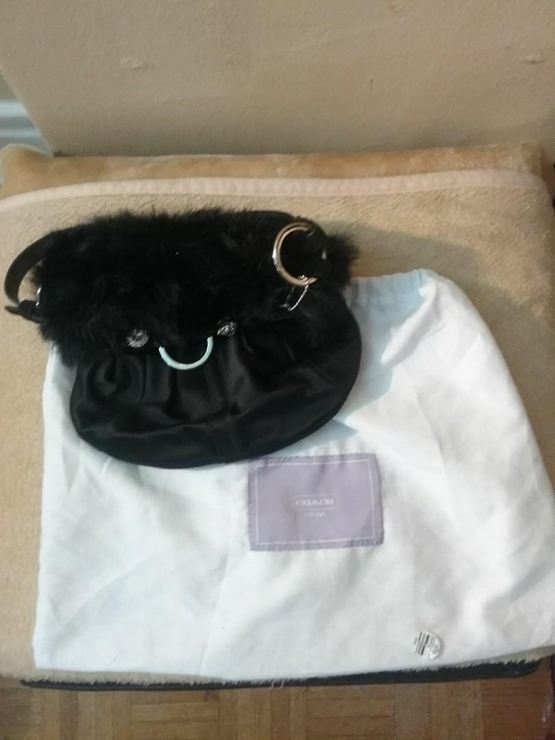 Coach & Swarovski evening bag purse - ideal for prom!