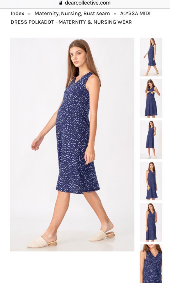 a45bdc5a5 Dear Collective Alyssa Nursing Dress Size XS