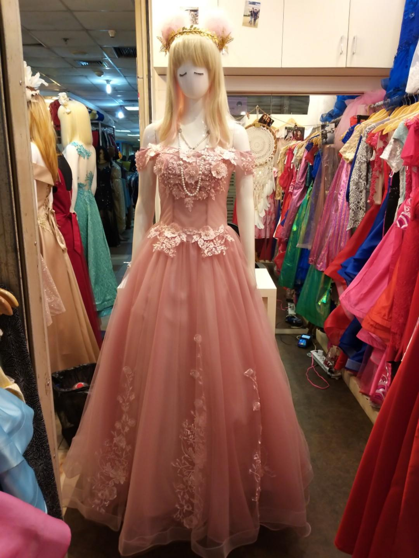 Dustypink dress