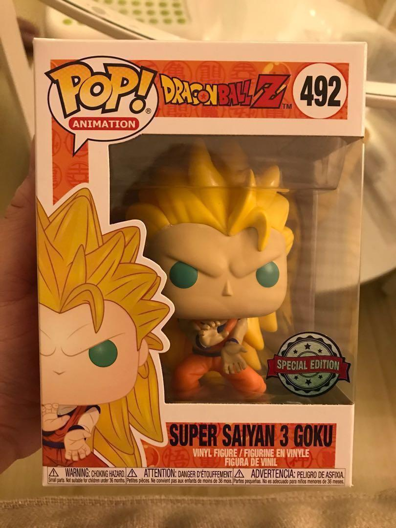 Funko Pop! Exclusive - Super Saiyan 3 Goku (Dragonball Z