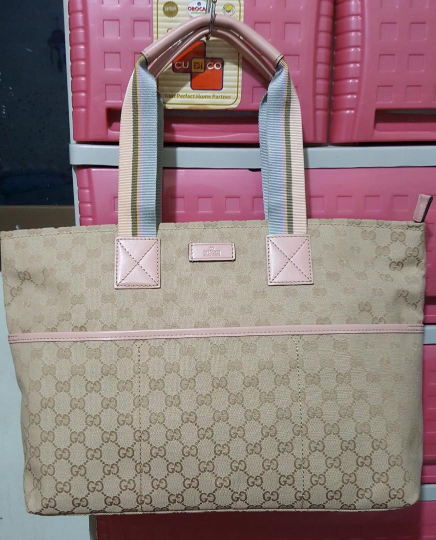 a5c7d70f5b54 Gucci Diaper Bag on Carousell