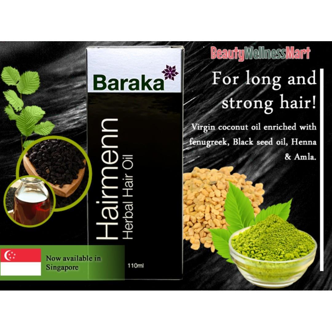 Hair Care Greying Loss Prevention 100% Natural Baraka