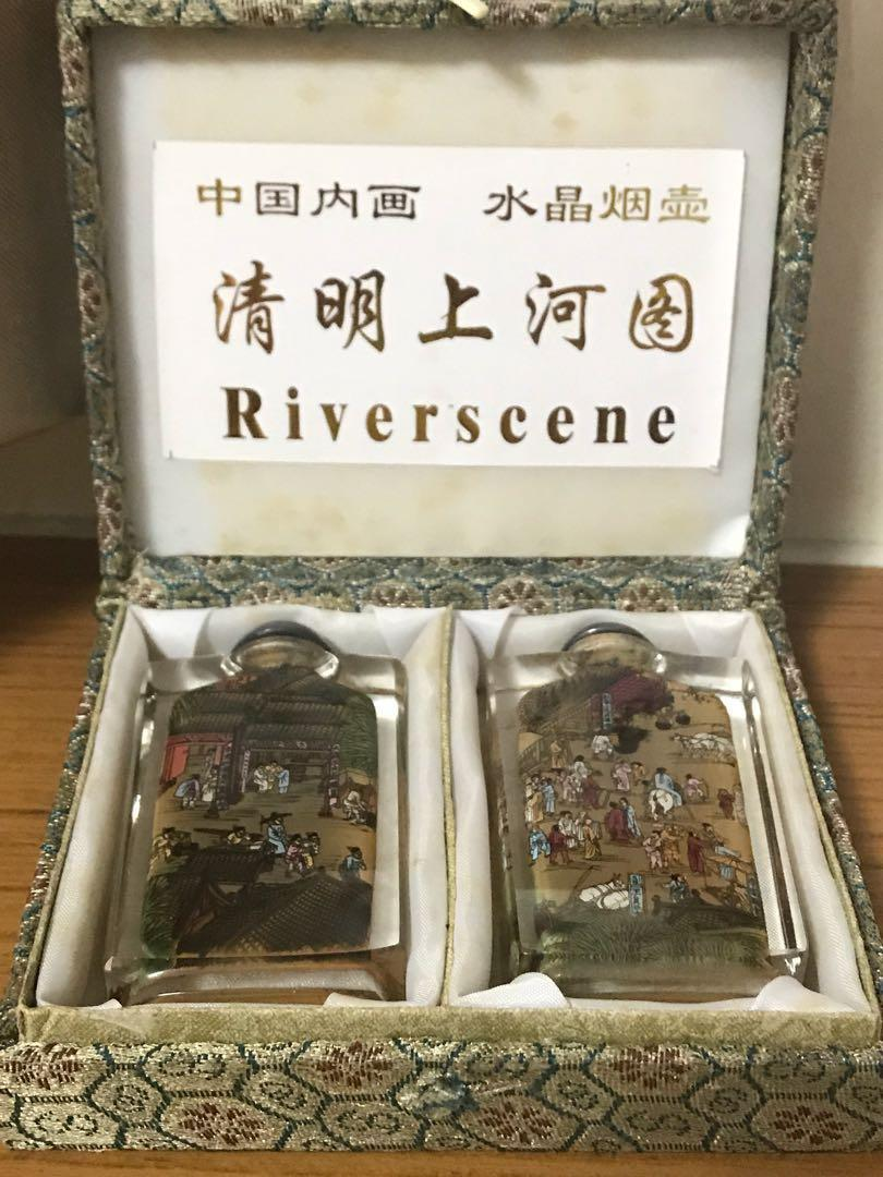 Hand crafted Chinese Snuff bottles