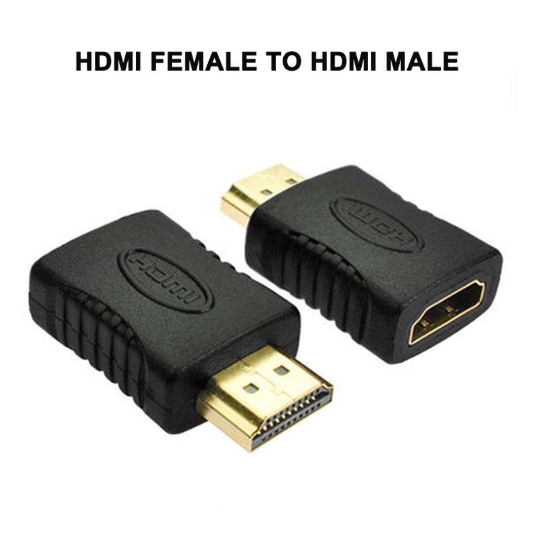 HDMI Male to HDMI Female Connector