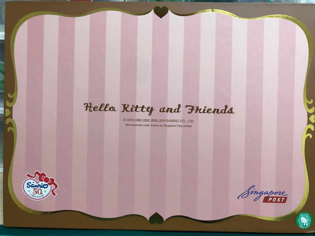 Hello Kitty & Friends with Singpost 50th Anniversary Mystamps Collection
