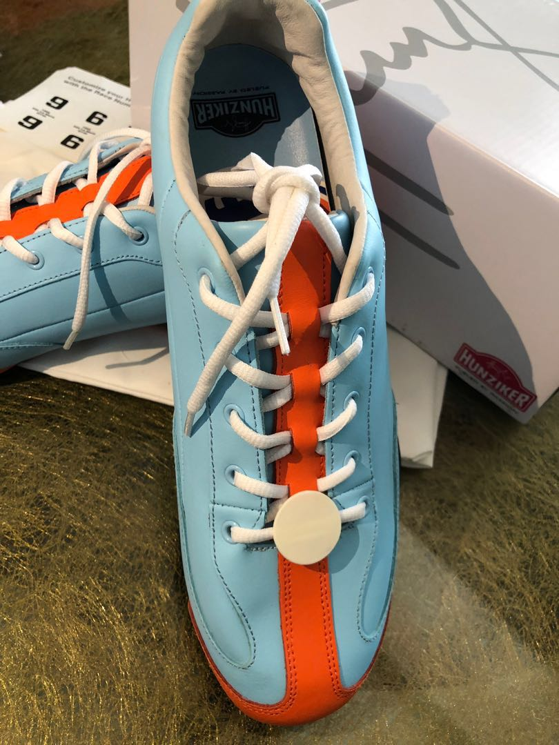 """ee87cac32d7d4 """"Heritage"""" Gulf Racing Casual Driving Shoes"""