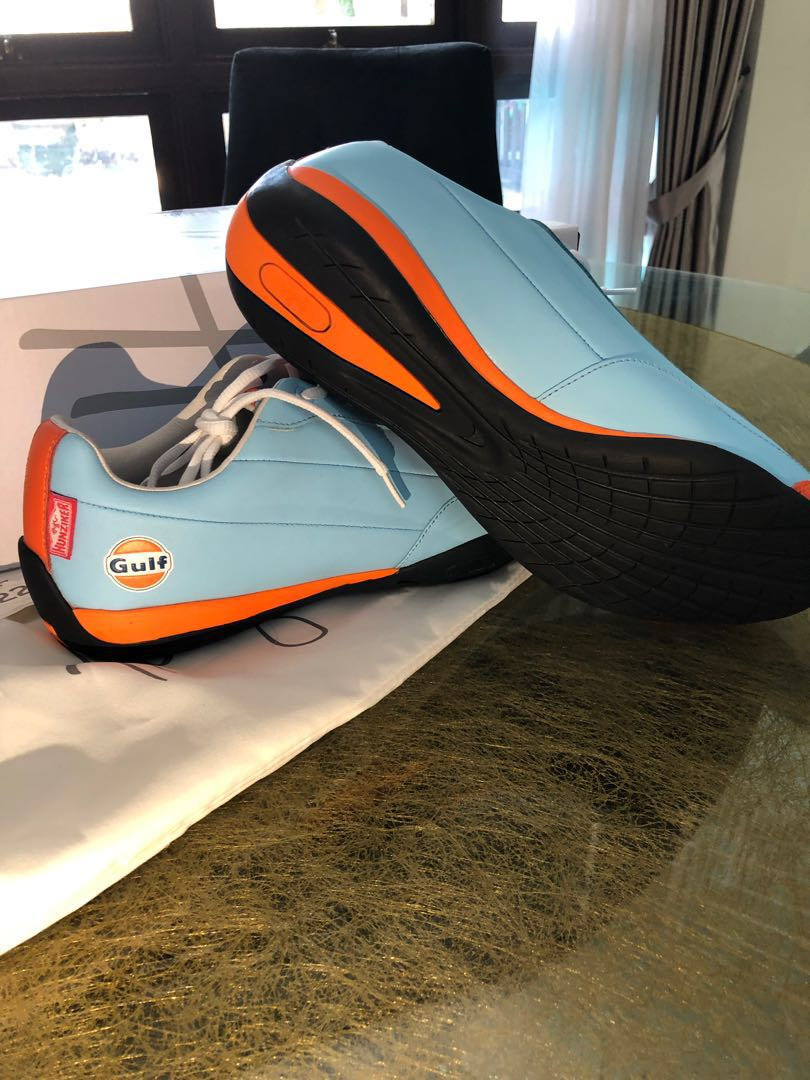 """e8003342c1891 Heritage"""" Gulf Racing Casual Driving Shoes"""