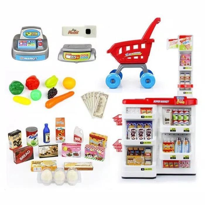 Home Supermarket Playset 668-01 / Mainan Anak Super Market