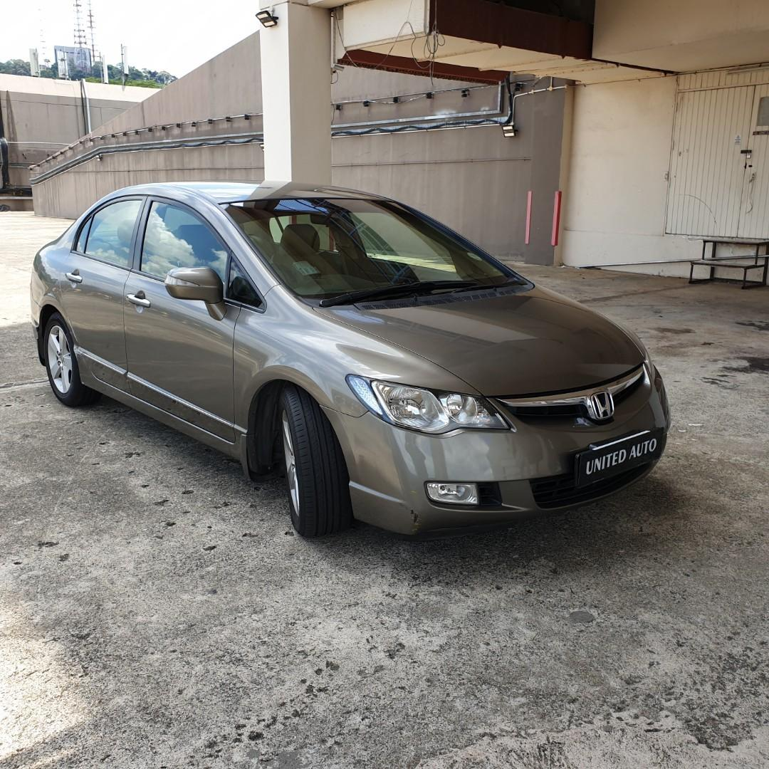 Honda civic 1.8 a
