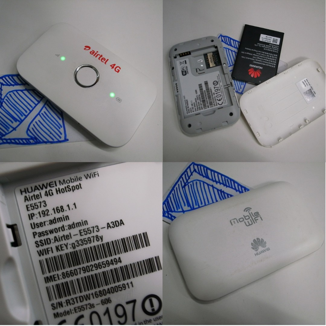 How to change password in huawei mobile wifi e5573