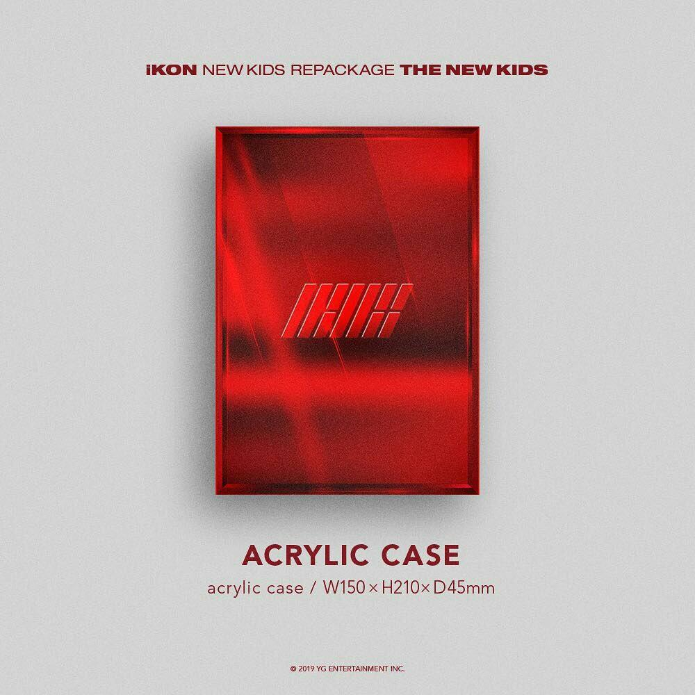 IKON NEW KIDS REPACKAGE - THE NEW KIDS (with poster)