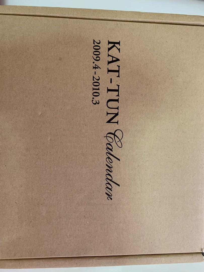 KAT-TUN 2009.4-2010.3 Calendar