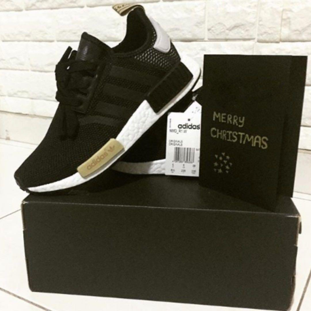 brand new 310d8 cdec4 Limited Edition Adidas NMD R1 W (CORE BLACK) - BA7751 ...